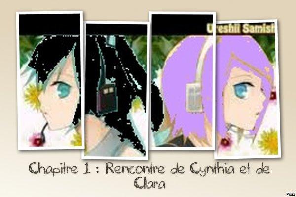 Les fées de l'espoir : Rencontre de Cynthia et de Clara