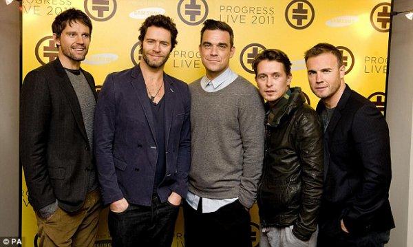 Robbie Williams & Take That! J'aime, J'aime, J'aaaaaaaime!