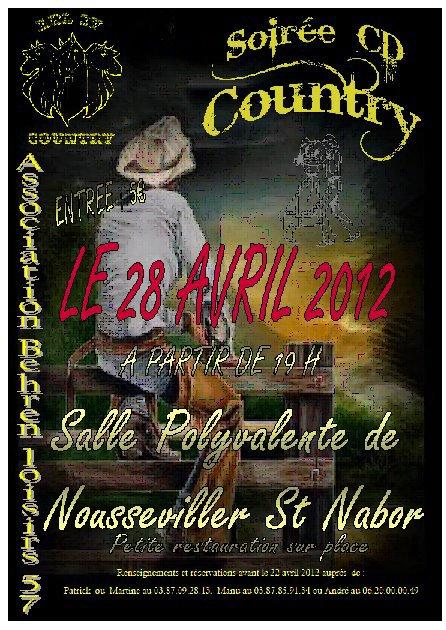 Soirée CD à Nousseviller le 28 avril 2012