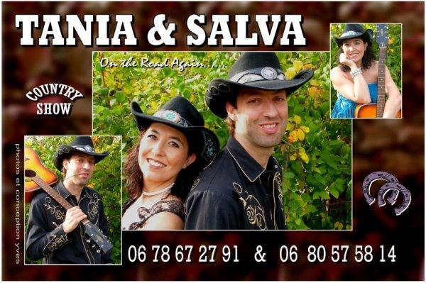 Tania & Salva les nouveaux chanteurs country