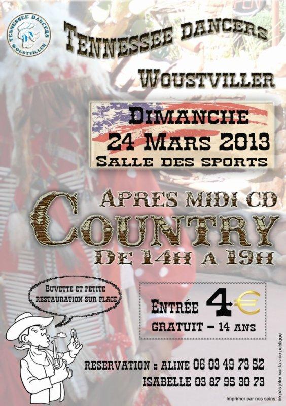 Thé dansant dimanche 24 mars à Woustwiller