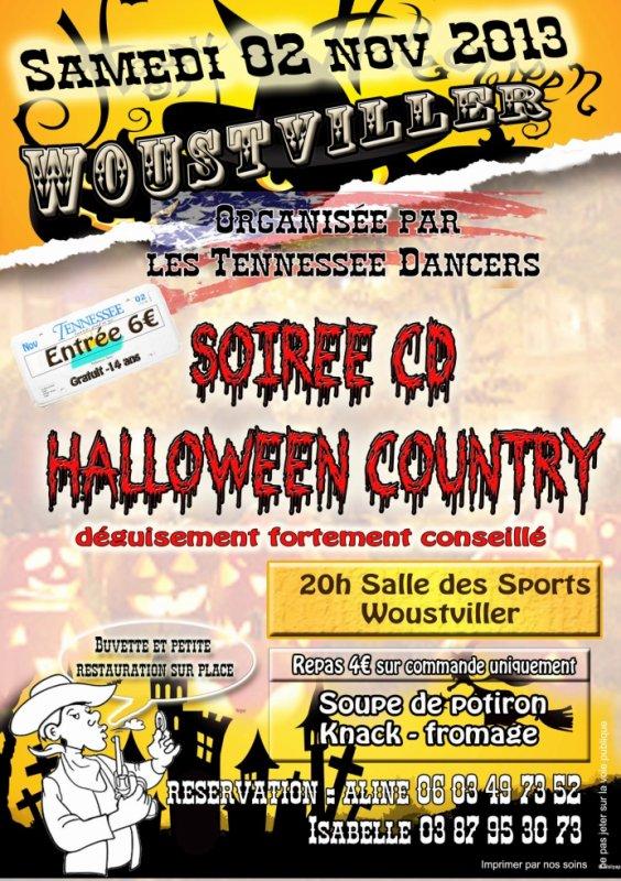 soirée CD samedi 2 novembre à Woust