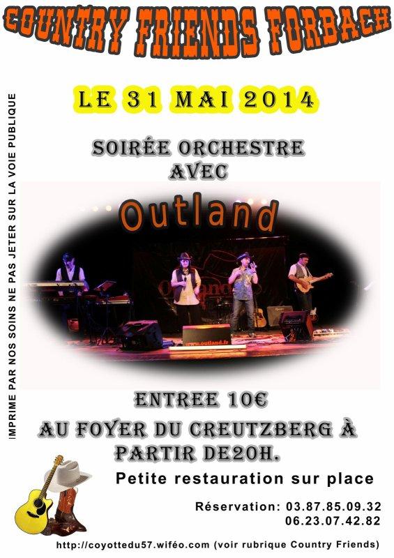 Samedi 31 mai 2014 Soirée à Forbach