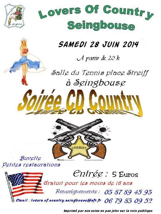 Samedi 28 juin 2014 soirée à Seingbouse
