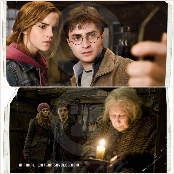 * PHOTOS Harry potter 7 - partie 1  *