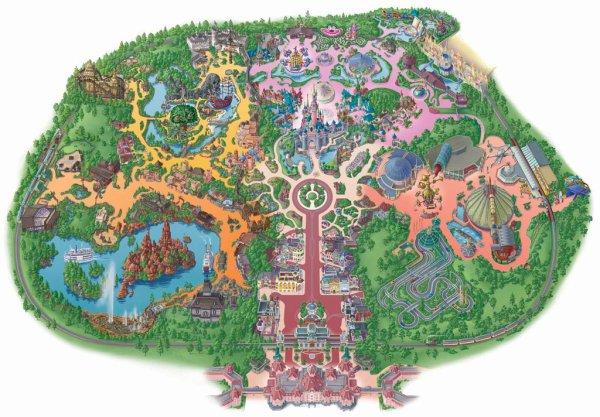 Le parc à thèmes