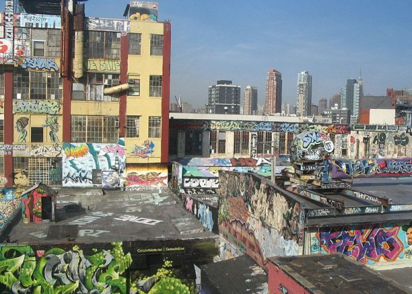 5 POINTZ DANS LE QUEENS (new york)