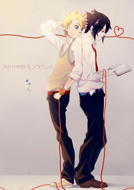 Naruto & Sakuke ♥