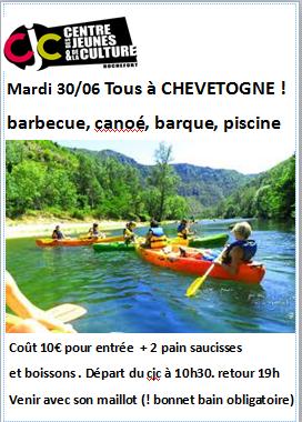 Mardi 30 juin de 10h30 19h tous chevetogne for Chevetogne piscine
