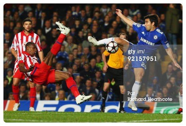 Maillot de Chelsea Porté par DECO en Ligue des Champions 2009-2010.