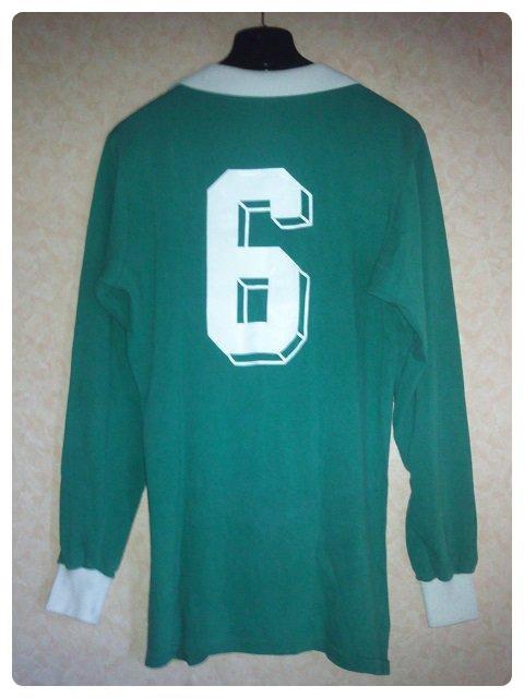 Maillot RFA porté par #6 (Bernd Schuster ?) 1978-1980.