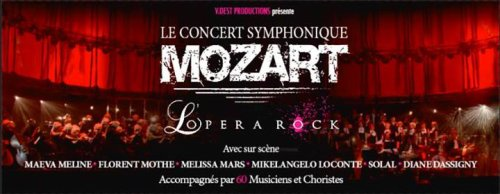 Tournée de Mozart L'Opéra Rock !