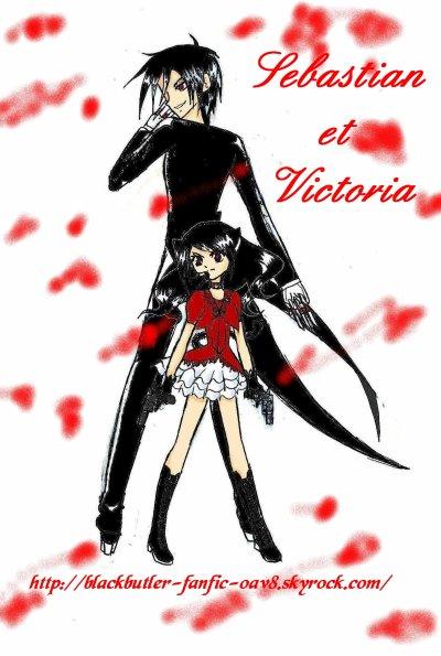 Fanart RPG: Sébastian Michaelis et Victoria Stewart