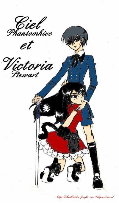 Fanart RPG Ciel Phantomhive et Victoria Stewart (2)