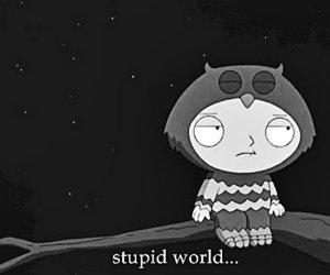 × World is stupid×