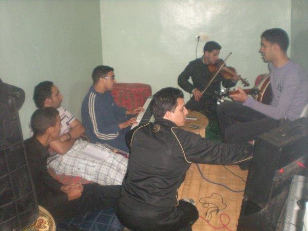 noujoum achtoukn en plein preparation du nouveau album 2011