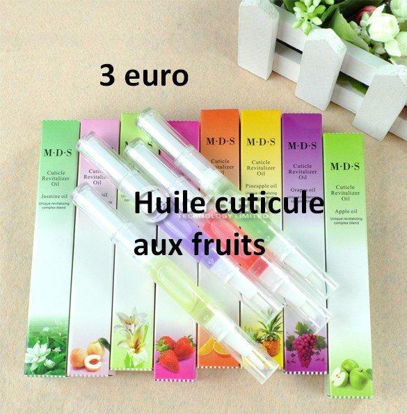 huile cuticule senteur fruits