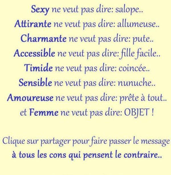 ☝️ C'est Vrai !!! ☝️