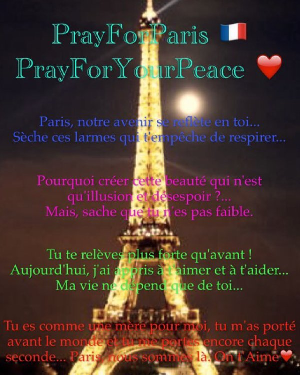 🇫🇷 PrayForParis 🇫🇷
