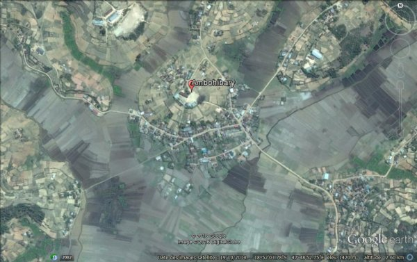 Photo satellite - Ambohibary