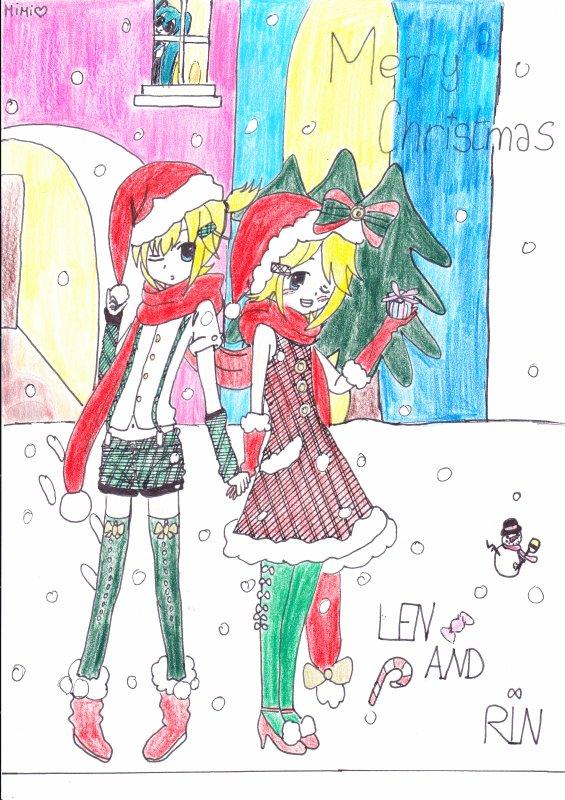 Noël avec les Vocaloid