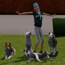 Pictures of simsdoghusky