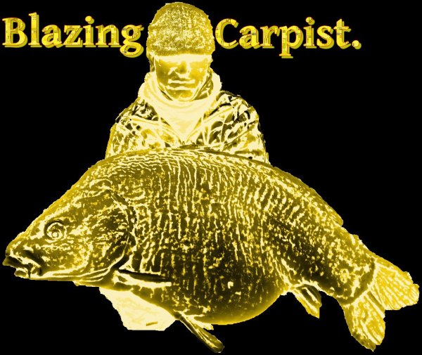 """Blazing Carpist"" logo idea"