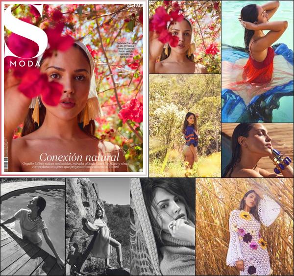 .COUVERTURE: Découvrez notre belle Eiza González dans la couverture du SModa Magazine pour la nouvel l'édition du mois Juin! Je trouve que notre E. González est très glamour dans ce shoot son style et son make-up est bien interpréter et diffèrent ! _ Et Vous en pensez quoi ? .