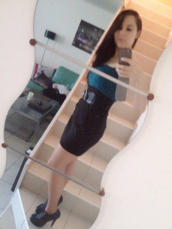 Sa change unpe de mettre une robe LOL