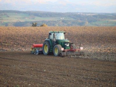 Semis de blé 2009.