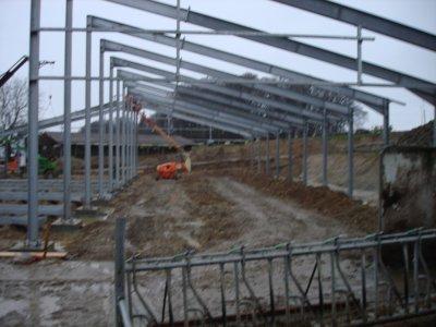 Construction écurie 2009.