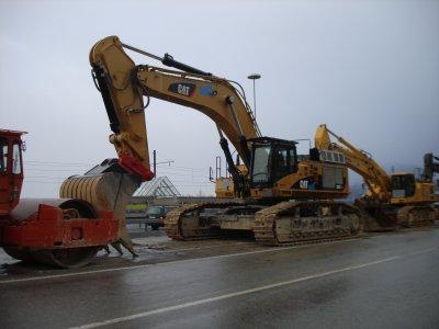 Petite machine de chantier 2009.