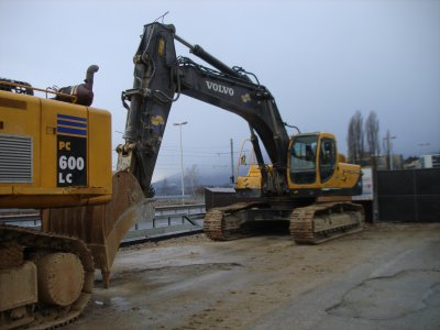 Petite machine de chantier 2009.