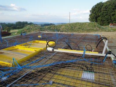 Construction villa 2010.