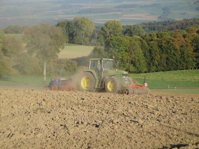 Semis de céréales 2010.