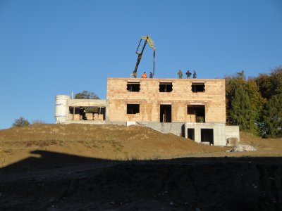Construction villa 2010.