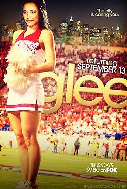 Photo promo de Quinn,Rachel, Santana et Kurt