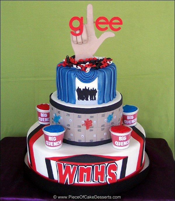 Gâteau Glee
