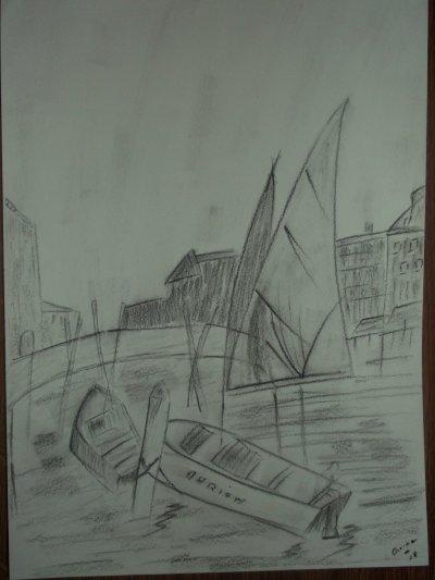 bateau que mama tata ma fais <3