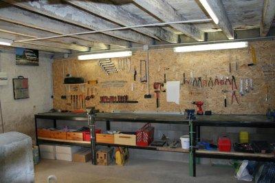 Vacances de paques ma maison moi - Amenager un garage en atelier ...