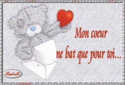 Je T'aime pour la vie mon amour :D