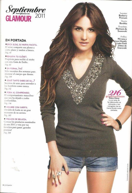 Revista Glamour México (Setembro)