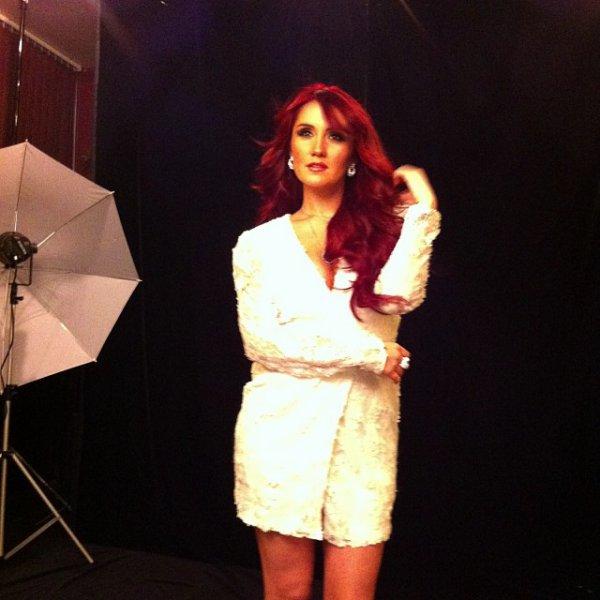 Dulce María em sessão de fotos para a Revista Estilo DF na Cidade do México, México (07.10.13)
