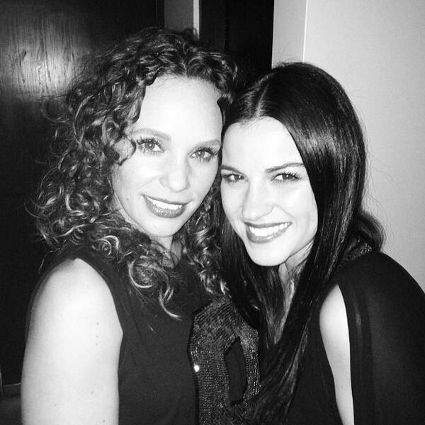 Maite Perroni na festa de aniversário de sua amiga Jessica Coch (04.11.13)