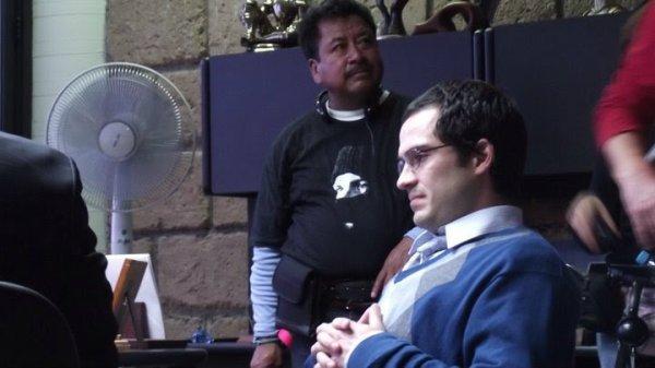 """Alfonso Herrera nas gravações do filme """"Asi es la Suerte"""" (Julho - Agosto 2010)"""