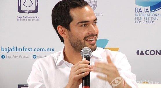 Alfonso Herrera e Irene Azuela apresentando a animação Metegol no BIFF 2013 (13.11.13)