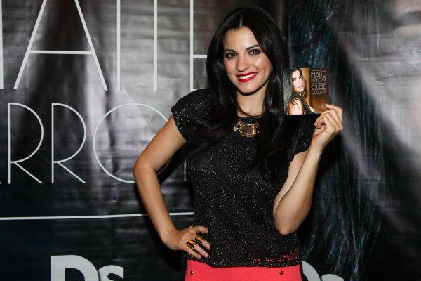 Maite Perroni em coletiva de imprensa em São Paulo, Brasil (19.11.13)
