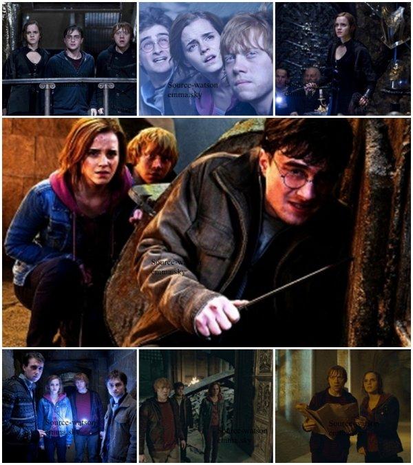 Voici quelque photos du dernier Harry Potter .