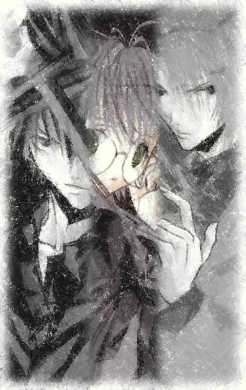 les vampires l'évolutions (illustration manga)