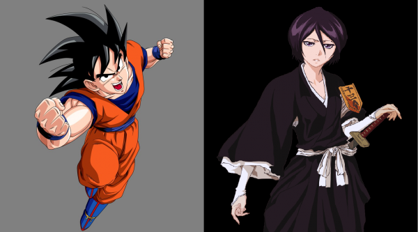 Parents de Ryu (Goku et Rukia)